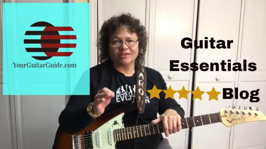 How to bend guitar strings video