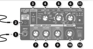 Micro Cube GX Control Panel
