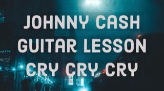 Johnny Cash Guitar Lesson